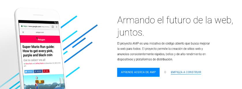 AMP mejora la velocidad en WordPress